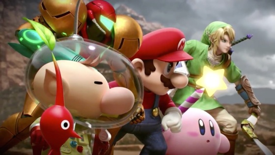 Super Smash Bros. 2014 Wii U Fighters