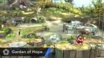 Super Smash Bros. 2014 Wii U Garden of Hope Stage