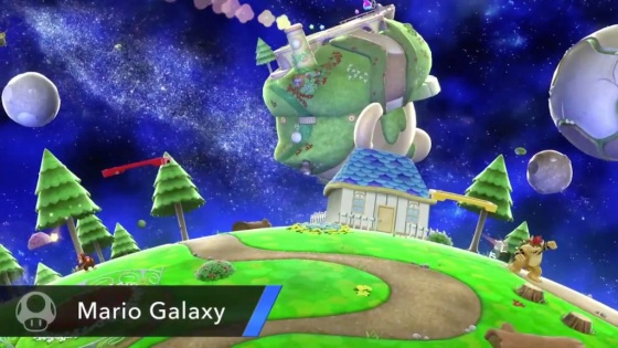 Super Smash Bros. 2014 Wii U Mario Galaxy Stage