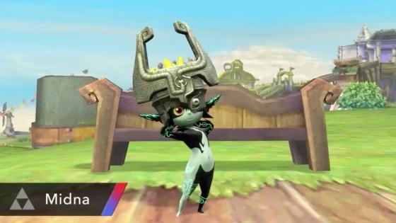 Super Smash Bros. 2014 Wii U Midna Assist