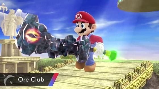 Super Smash Bros. 2014 Wii U Ore Club Item