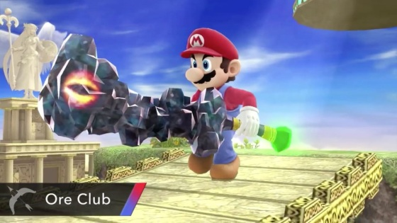Super Smash Bros. 2014 Wii U Ore Club Item