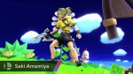 Super Smash Bros. 2014 Wii U Saki Amamiya Assist