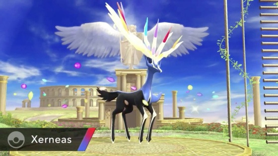 Super Smash Bros. 2014 Wii U Xerneas Pokemon