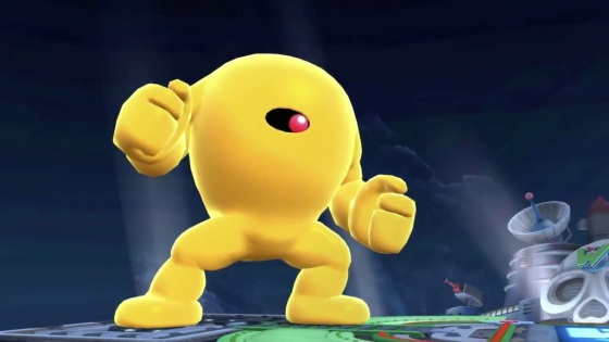 Super Smash Bros. 2014 Wii U Yello Devil
