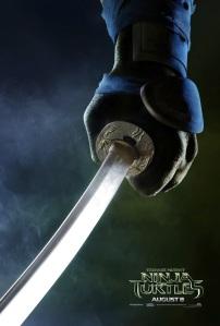 Teenage Mutant Ninja Turtles 2014 Movie Teaser Poster Leonardo