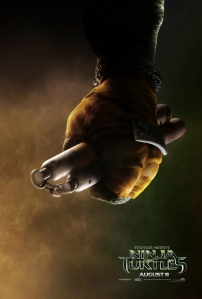 Teenage Mutant Ninja Turtles 2014 Movie Teaser Poster Michelangelo