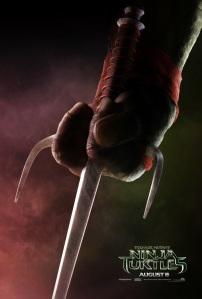 Teenage Mutant Ninja Turtles 2014 Movie Teaser Poster Raphael