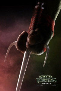 Teenage Mutant Ninja Turtles 2014 Movie Teaser Poster Raphael