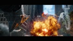 The Amazing Spider-Man 2 Movie Screenshot Rocket Explosion