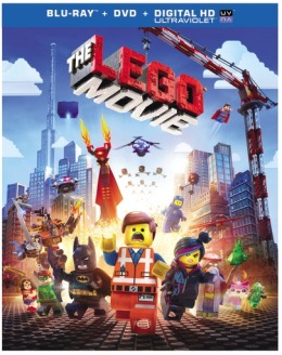 The LEGO Movie Blu-Ray Box Cover Art