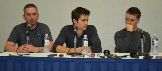 The Maze Runner WonderCon Press ConferenceThe Maze Runner WonderCon Press Conference