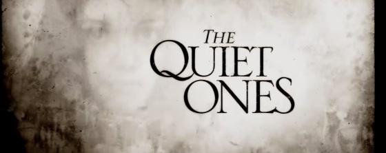 The Quiet Ones Title Movie Logo