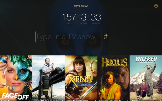 Website Total Time Spent Watching TV Calculator