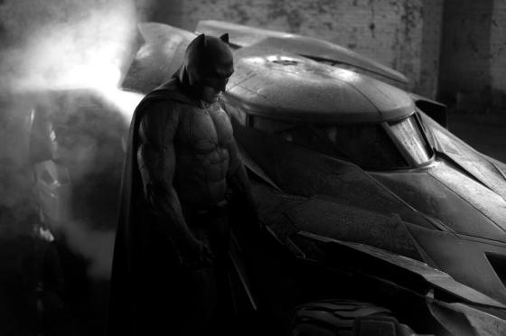 Batman Ben Affleck Batsuit First Image Batmobile 2016
