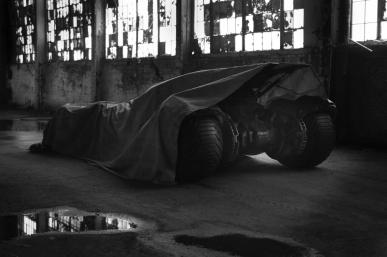 Batman vs Superman Movie 2016 Batmobile Tease