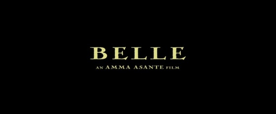 Belle 2014 Title Movie Logo