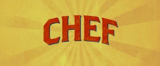 Chef 2014 Title Movie Logo