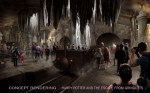 'Harry Potter and the Escape from Gringotts' Concept Art 4