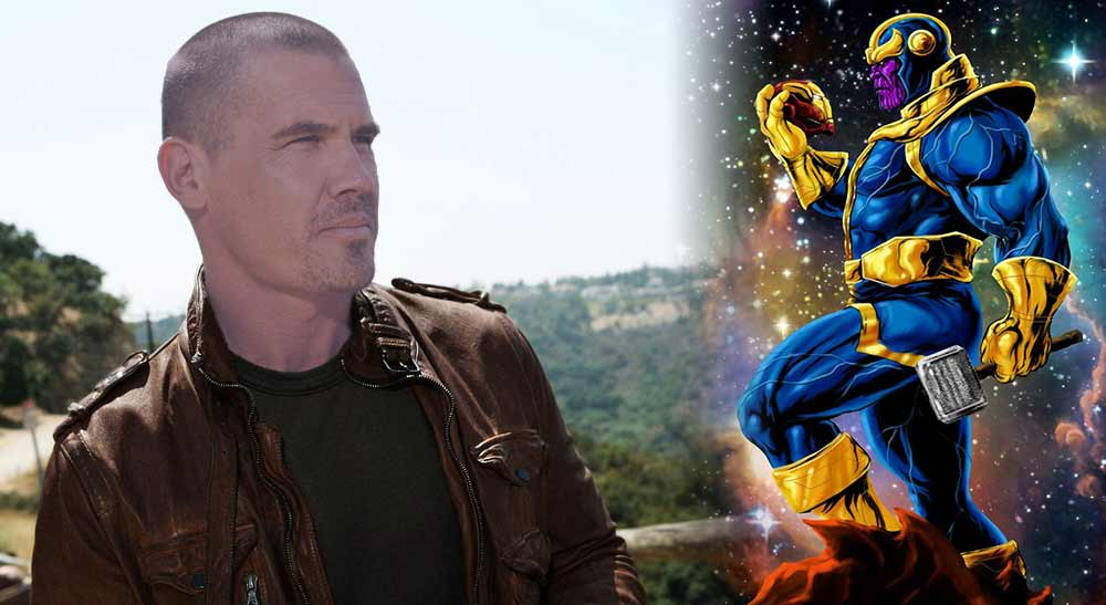 Josh Brolin Cast as Thanos Marvel Studios