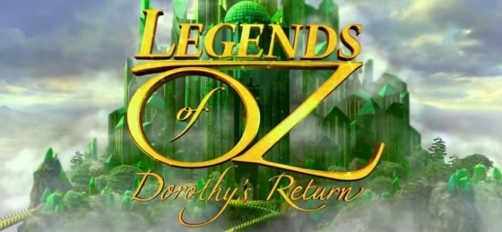 Legends of Oz Dorothy's Return Title Movie Logo