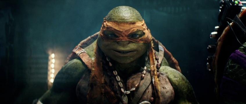 Teenage Mutant Ninja Turtles 2014 Movie Still Michelangelo Turn The Right Corner