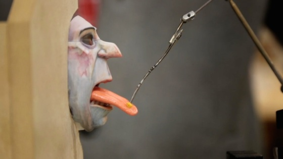 The Boxtrolls Movie Making of Puppets Tongue