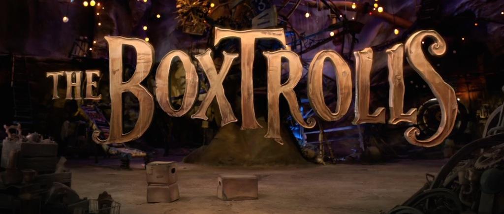 The Boxtrolls Movie Title Movie Logo