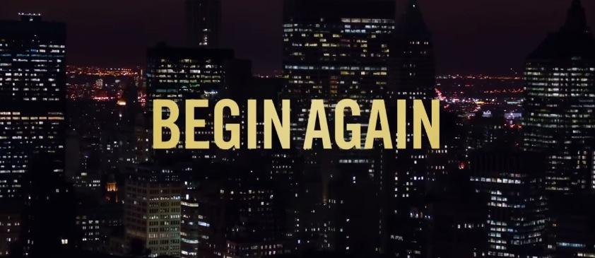 Begin Again Movie Title Logo
