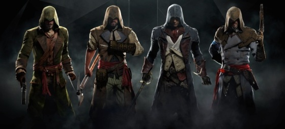 E3 2014 Assassin's Creed Unity 4-Player Co-Op