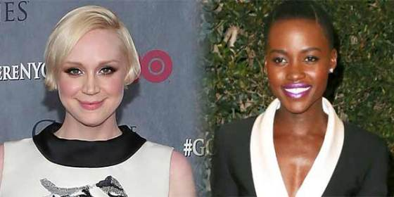 Lupita Nyong'o and Gwendoline Christie  Star Wars Episode VII