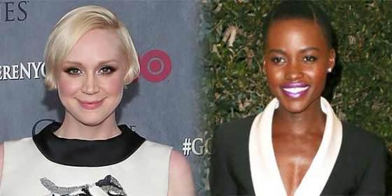Lupita Nyong'o and Gwendoline Christie  Star Wars Episode VII