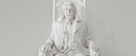 President Snow Teaser Trailer The Hunger Games Mockingjay Part 1