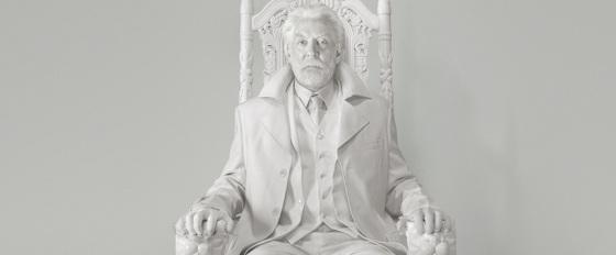 President Snow Teaser Trailer The Hunger Games Mockingjay Part 1