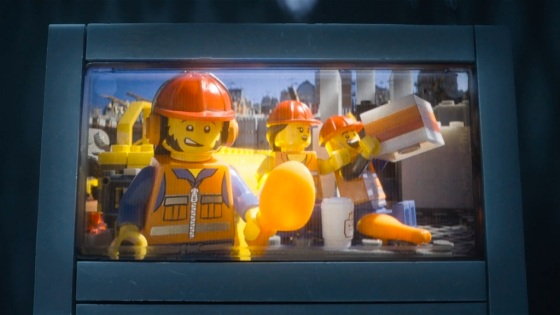 The LEGO Movie Construction Workers