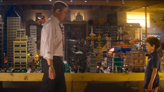 The LEGO Movie Finn and Dad Real World