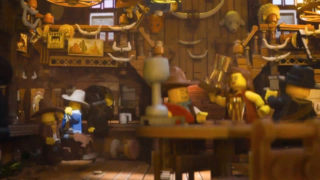 The LEGO Movie Old West Saloon
