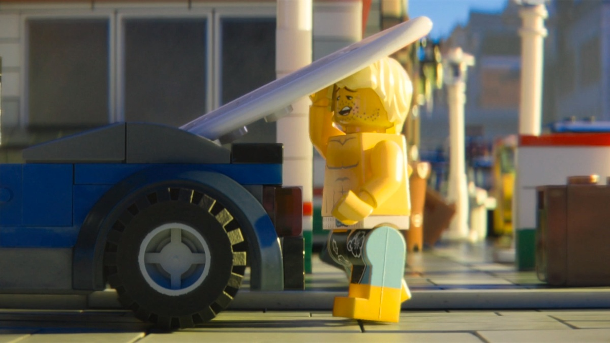 The LEGO Movie Surfer Dave