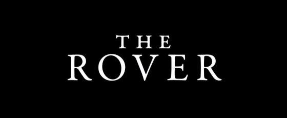 The Rover 2014 Movie Title Logo