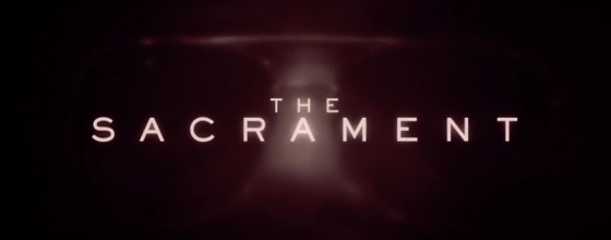 The Sacrament 2014 Logo Movie Title