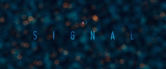 The Signal 2014 Movie Title Logo