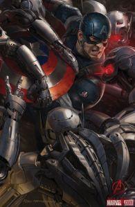 Avenger-Age of Ultron Captain America poster