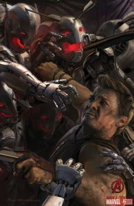 Avenger-Age of Ultron Hawkeye poster