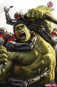 Avenger-Age of Ultron Hulk poster