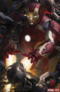Avenger-Age of Ultron Iron Man poster