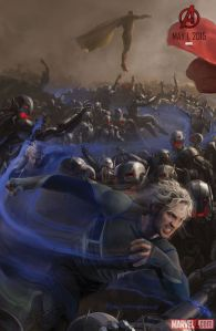 Avenger-Age of Ultron Quicksilver poster