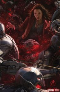 Avenger-Age of Ultron Scarlet Witch poster