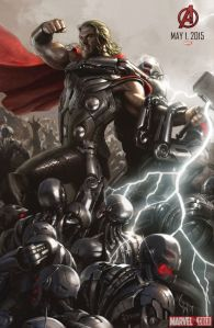 Avenger-Age of Ultron Thor poster