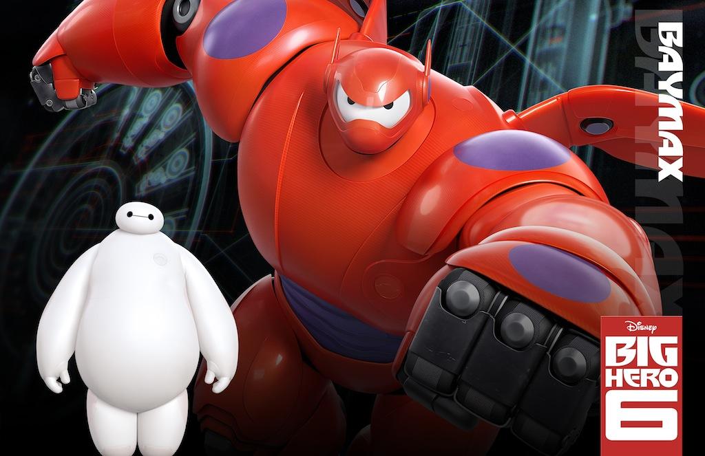 big hero 6 character poster baymax
