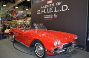 Comic-Con 2014 Agents of SHIELD Marvel Booth